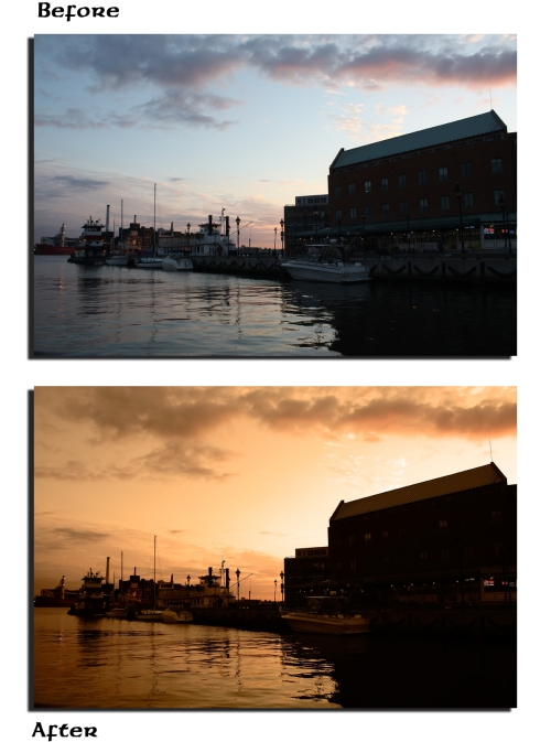 Fells Point at Sunset